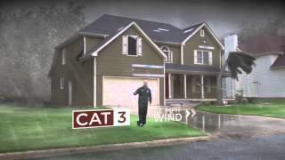 Hurricane Wind Damage Explained using VFX