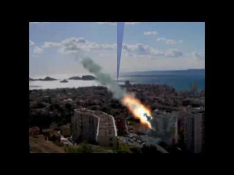 Detik-detik Meteor Jatuh ke Bumi Seberat 55 Ton