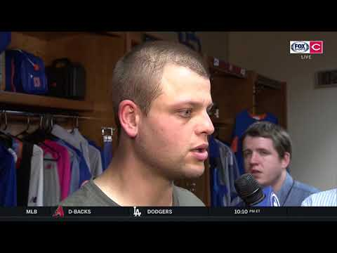 Catcher Devin Mesoraco describes his transition to New York