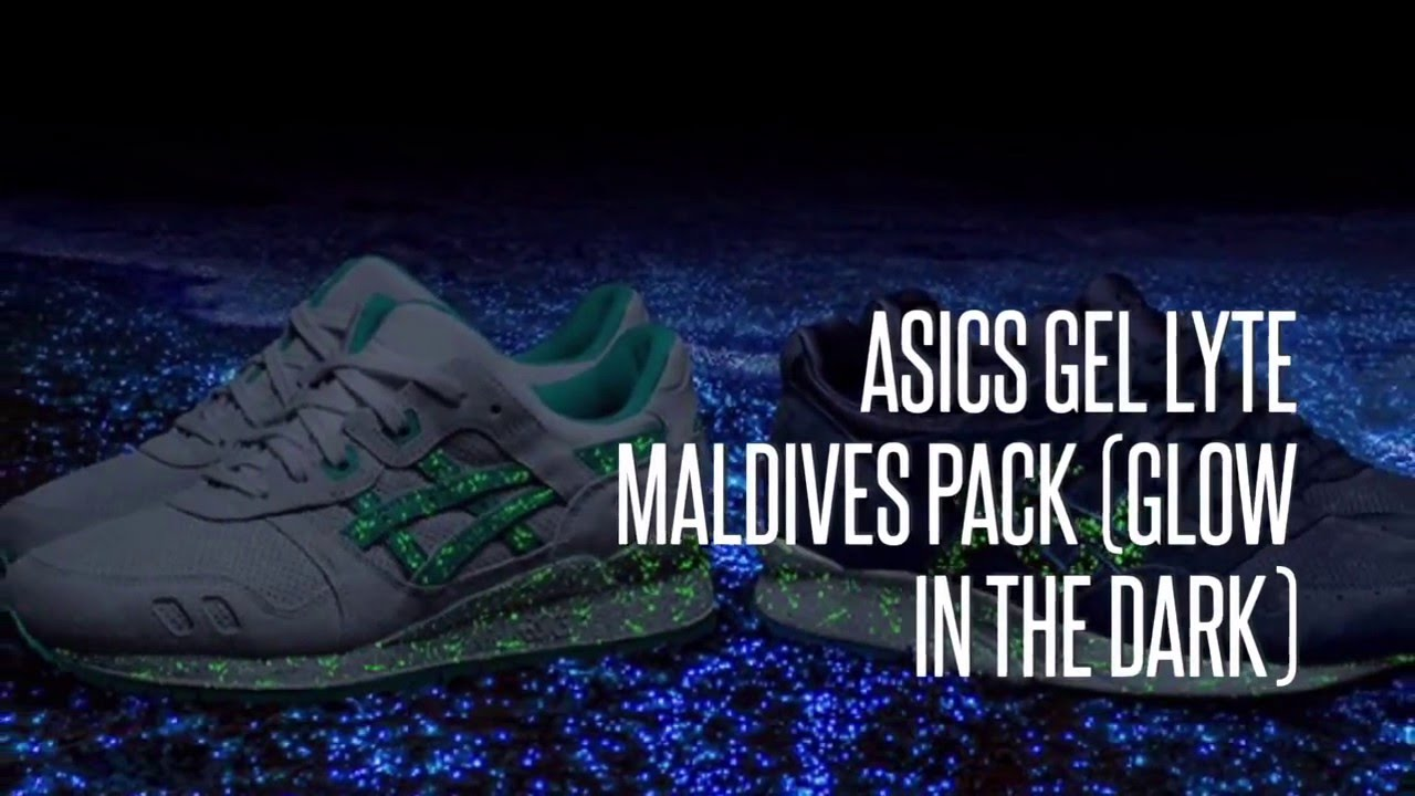 przystojny odebrać super promocje ASICS GEL LYTE MALDIVES PACK (GLOW IN THE DARK)/ SNEAKERS ...