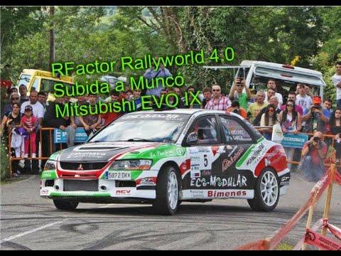 RFactor Rallyworld 4.0 - Mitsubishi EVO IX: Alberto Ordoñez - Subida a Muncó [1080p]