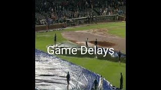 MLB: Game Delays