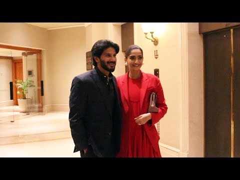 The Zoya Factor Movie Promotion | Sonam Kapoor And Dulquer Salmaan Spotted At JW Marriot Mp3