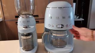 스메그 커피그라인더 스메그 커피머신 사용후기 드립커피 …