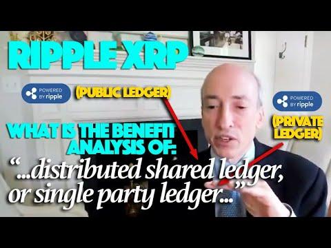 "Ripple XRP: ""Distributed Shared Ledger"" \u0026 ""Single Party Ledger"" Euphemisms For Public \u0026 Private?"