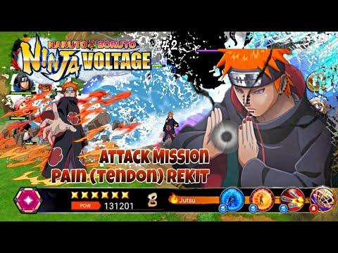 Pain Tendo (REKIT) Attack Mission || Naruto X Boruto Ninja Voltage