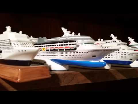 Cruise ship model collection