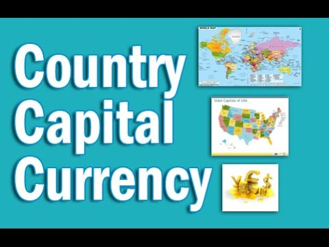 Country Capital Currency Tricks  in English | Static GK for CLAT SSC Banking IBPS, SBI, RRB PO/Clerk