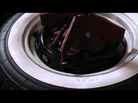 Classic VW Beetle Bugs How To Install Portawall White Wall Inserts