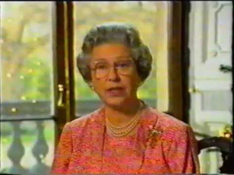 The Queen's Christmas Message 1991