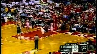 01/27/2001:  #2 Duke Blue Devils at #10 Maryland Terrapins