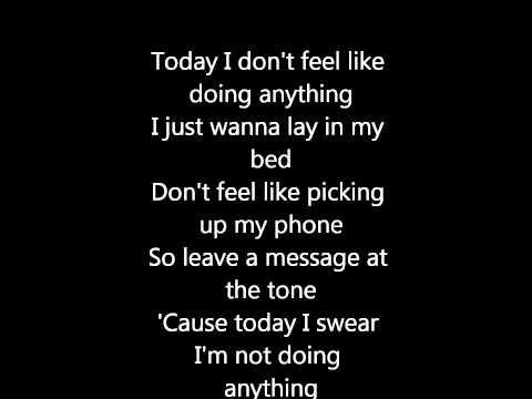 Bruno Mars - The lazy song + Lyrics