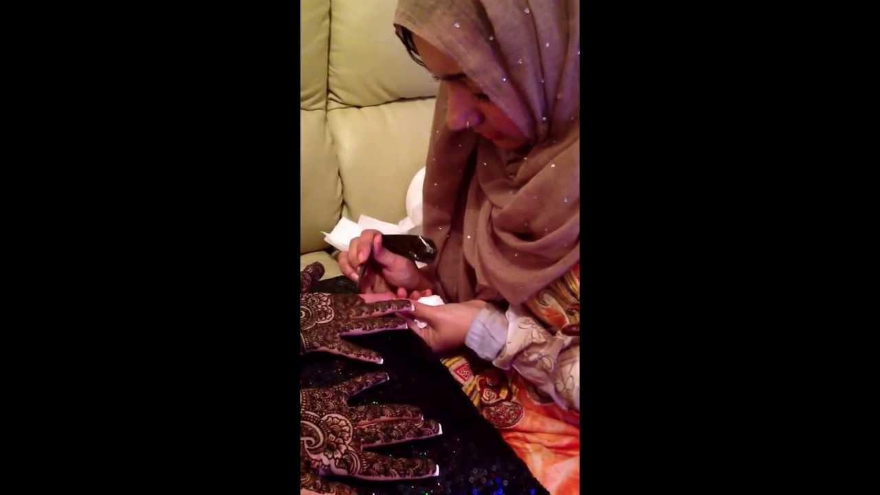 Bridal Mehndi Birmingham : Bridal mehndi 2 by fiza youtube