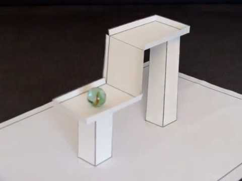 3D Paper Illusion - Impossible Gravity Illusion - 2