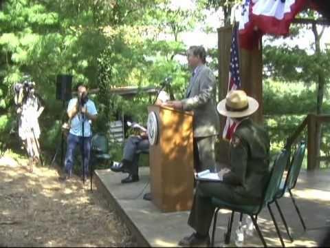Gerardo Balderas USA Citizen at Carl Sandburg National Historic Site