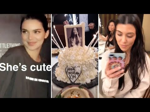 Kim Kardashian Throws A Birthday Party For HERSELF   Full Video   ft Kanye, Kylie, Kendall & Khloe