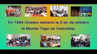 Monda Tago de Instruistoj (MTI), 5-a de oktobro 2015