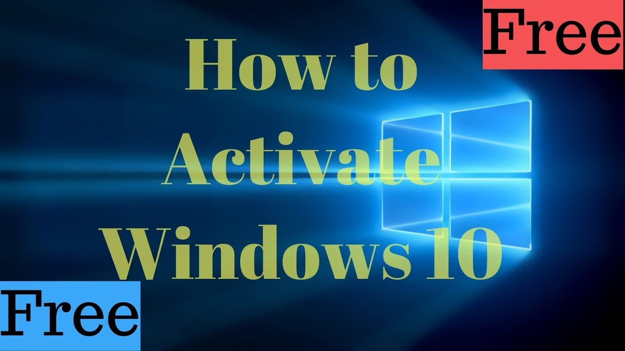 Activate Windows 10 in 5min (How to Activate/Crack Windows 10 easy)