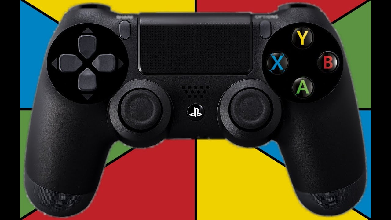 PS4 Controller XBox Buttons - YouTube