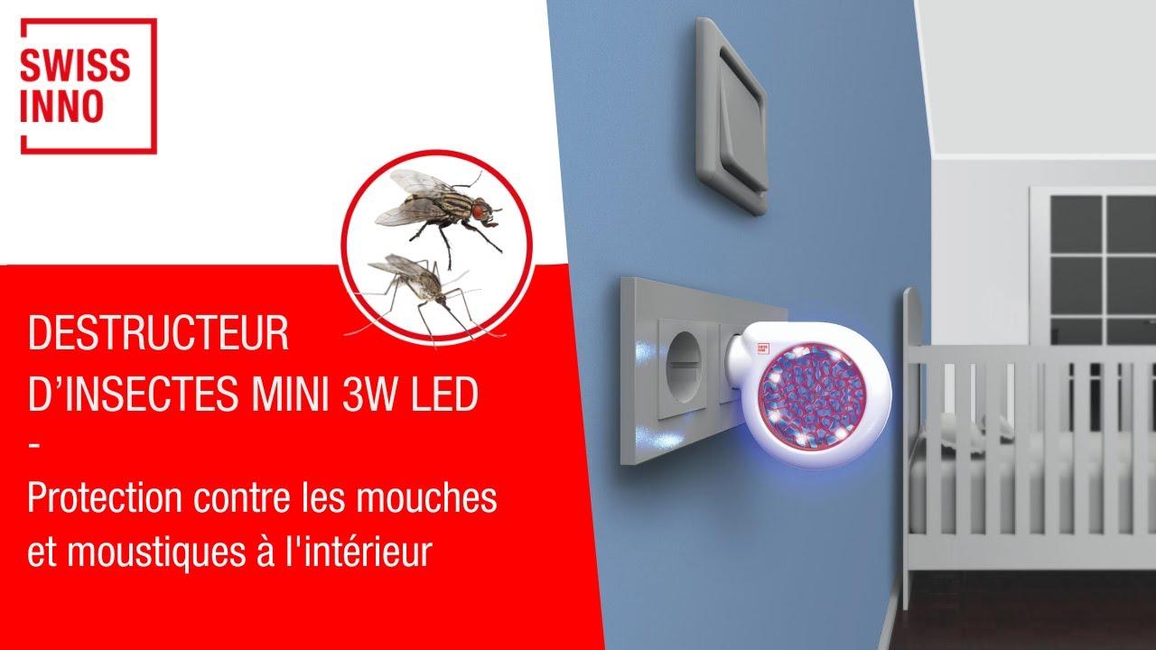 Destructeur d'Insectes Mini 3W LED SWISSINNO