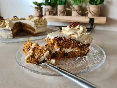 le-carrot-cake-parfait-🥕😋-وصفة-كيكة-الجزر-اللذيذة-بالجوز-والقرفة-بكريمة-رائعة