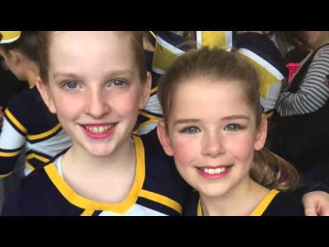 Burlington Notre Dame Cheer Video 2015 16