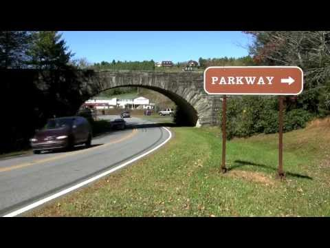 The Blue Ridge Parkway In North Carolina