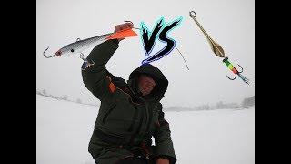 ловля окуня зимой на блесны