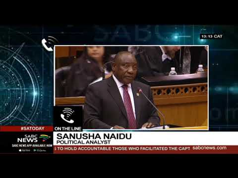 Sanusha Naidu on President Ramaphosa's expected briefing on Mkhwebane's report