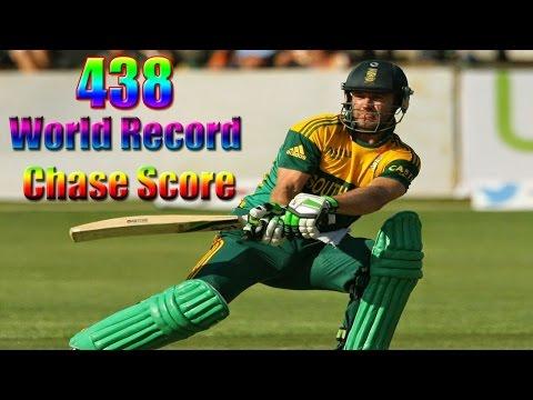 World Record 438 Match-South Africa vs Australia