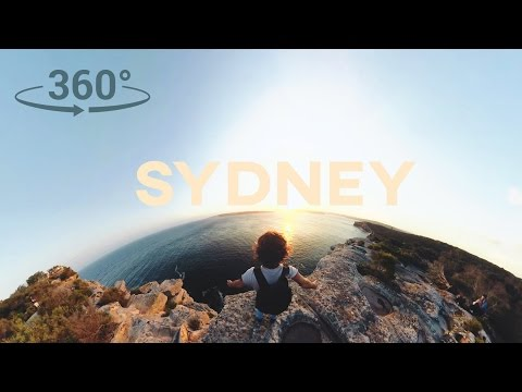 SYDNEY in 360 VR // ADVENTURE MODE // Sam Evans - 4K
