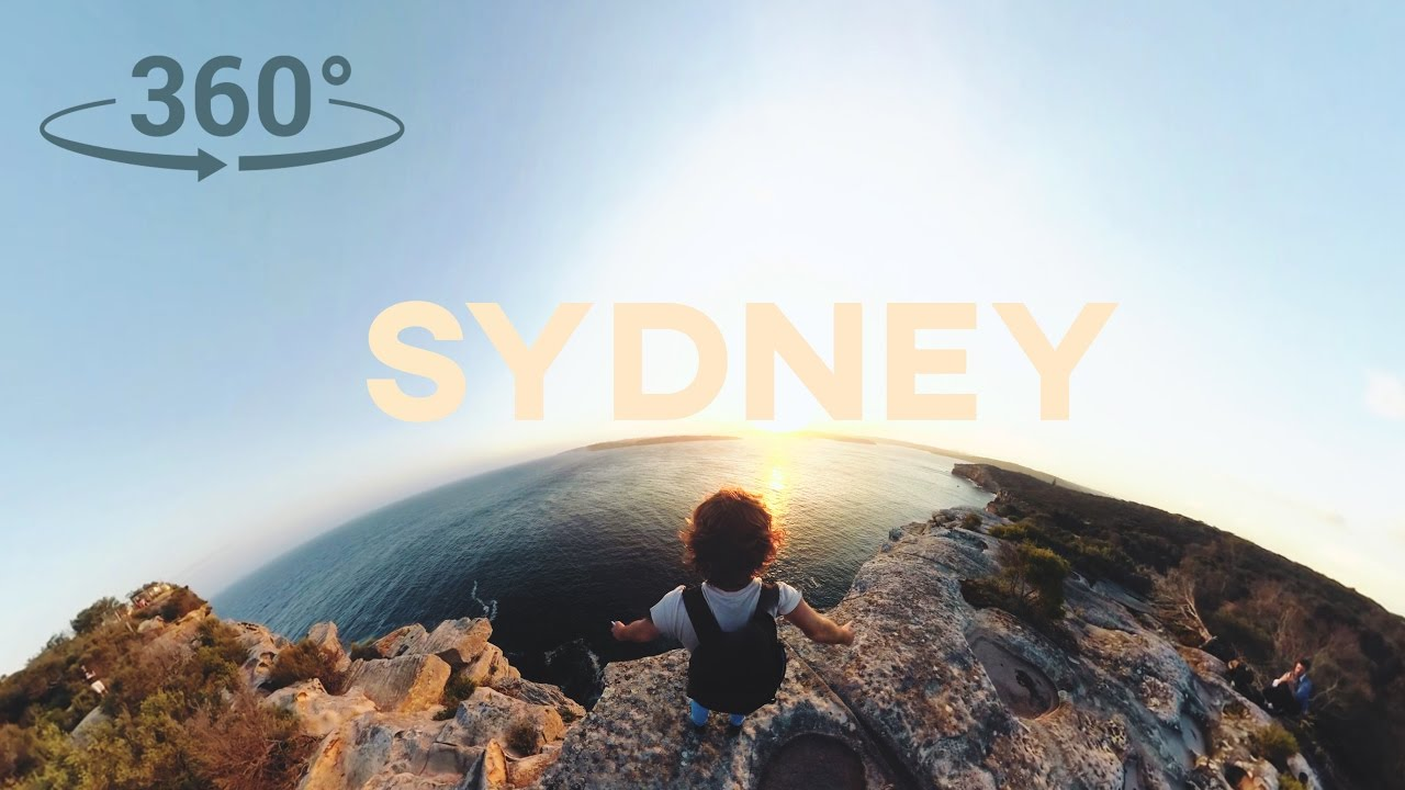 SYDNEY in 360 VR // ADVENTURE MODE // Sam Evans - 4K