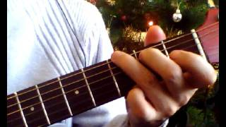 Снежинка из кинофильма Чародеи. Аккорды на гитаре