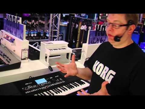 Korg Pa300 Pro Arranger Keyboard Demo - PART 2