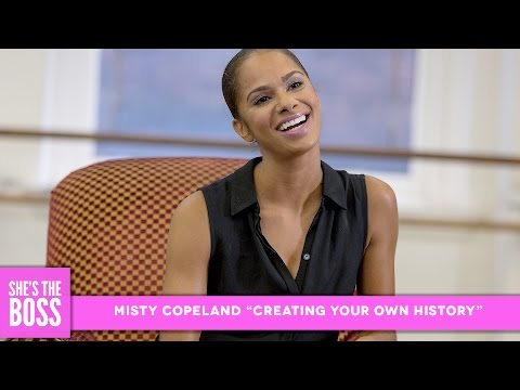 Misty Copeland Gets Emotional About Making History | She
