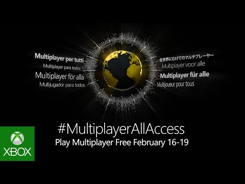 Multiplayer All-Access February 16-19 2017