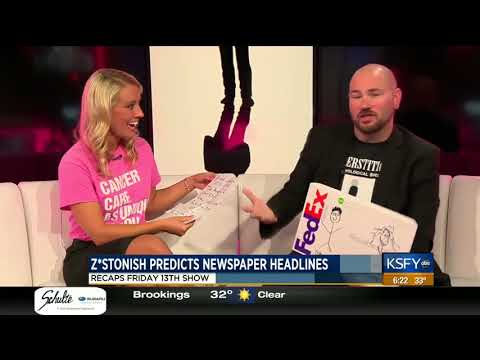 zstonish Predicts Argus Leader Headlines