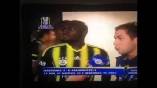 Emenike'nin Moussa Sow'a Yaptığı Eşek Şakası