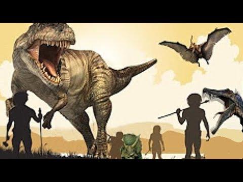 Unglaubliche Beweise Lebten Menschen Und Dinosaurier Im Selben