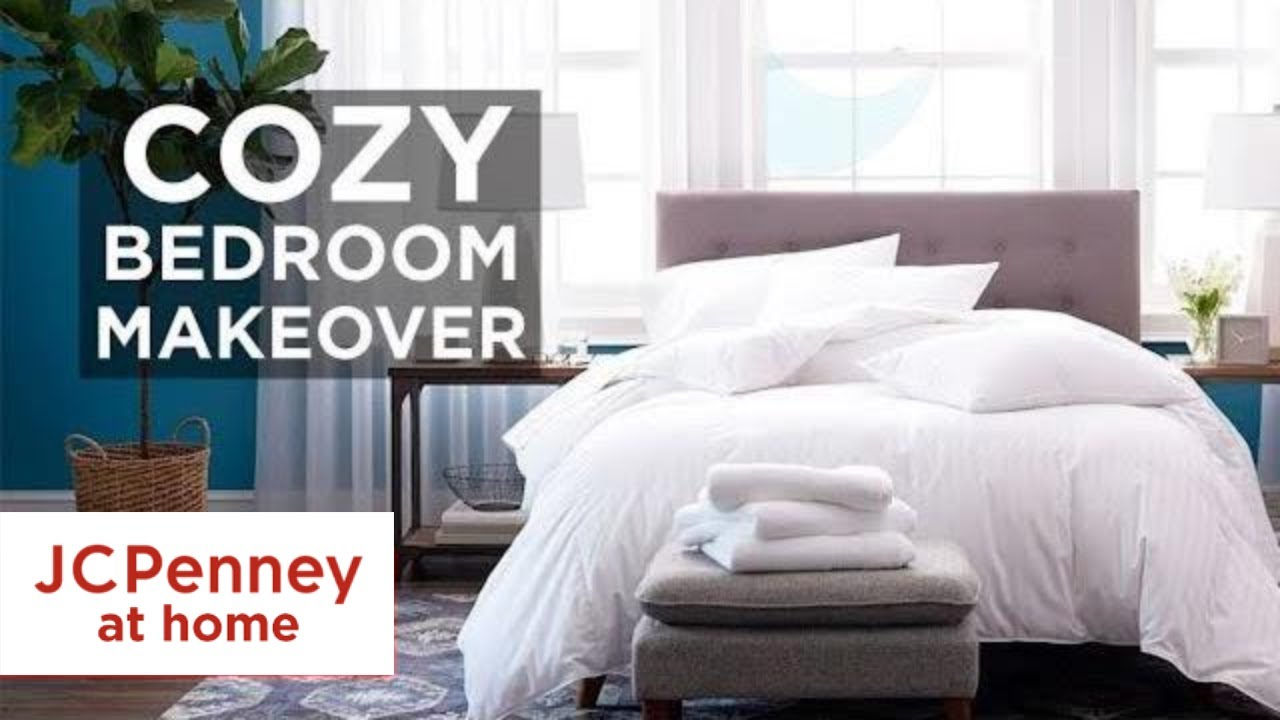 10 Cozy Bedroom Makeover Ideas Home Decor Tips Jcpenney Youtube