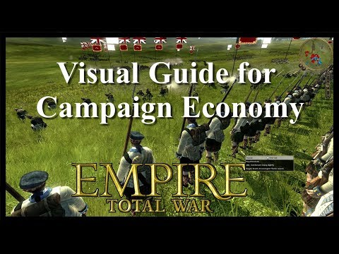 Visual Guide Economy in Empire:  Total War Campaigns