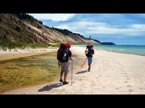 North Manitou Island Backpacking 23 Miles North-South