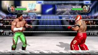 WWE All Stars Xbox 360 Gameplay Eddie Guerrero vs Rey Mysterio