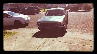 Ride Around the Block in a 1968 Mustang
