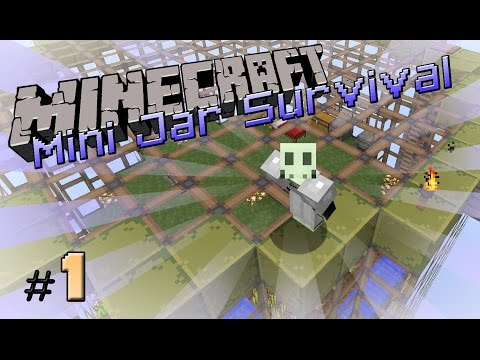Minecraft - Mini Jar #1 [เป้&โบ้ท] ใช้ชีวิตในขวดแก้ว | สนับสนุนโดย dks.in.th