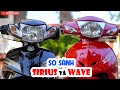 Honda Wave Alpha vs Yamaha Sirius 2017 ? So sánh ??i th? truy?n ki?p bán ch?y nh?t!