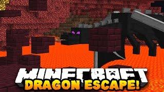 Minecraft DRAGON ESCAPE #10