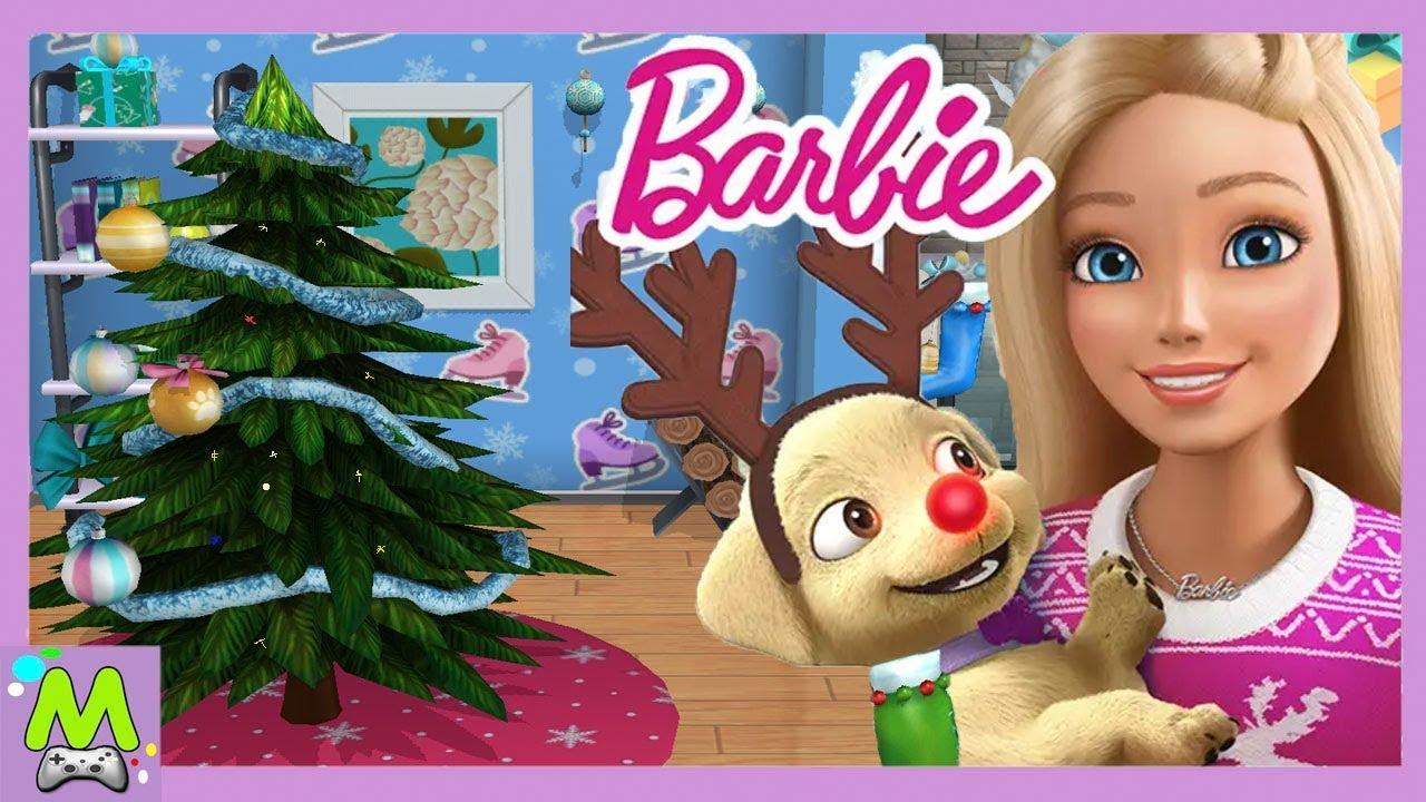 Barbie Dreamhouse Adventures/Подготовка к Новому Году в Доме Мечты Барби. Полная Версия Игры