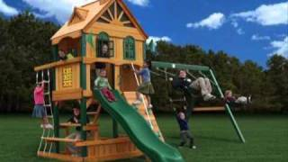 Childrens Wooden Swing Sets 2011