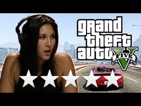 Thumbnail: We Try To Escape 5 Stars In Grand Theft Auto 5